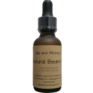 EM Beard Oil Transparent