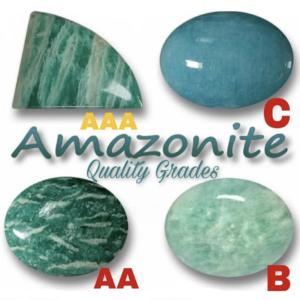 Amazonite Quality Levels