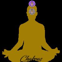 GOLD Lotus Chakras ThirdEye Crown